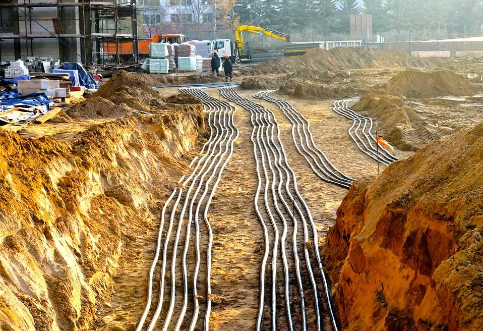 электроснабжения механизации строительства