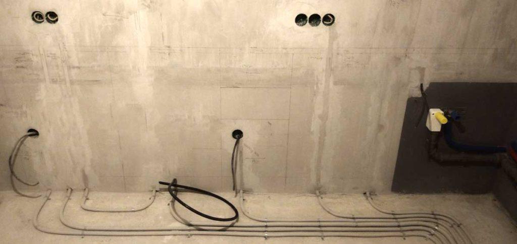 розетки и выключатели в проекте